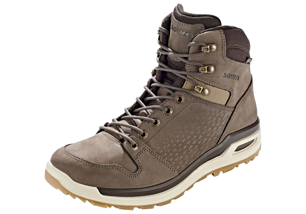 Lowa Locarno GTX Mid Shoes Men stone | campz.de